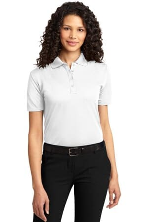 L525 port authority ladies dry zone ottoman polo l525