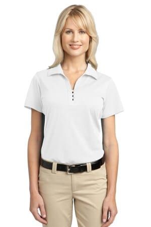 L527 port authority ladies tech pique polo l527