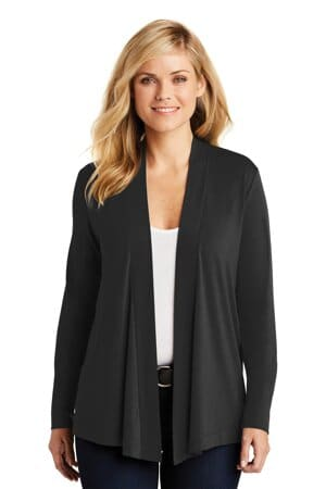port authority ladies concept open cardigan l5430