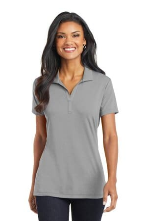port authority ladies cotton touch performance polo l568