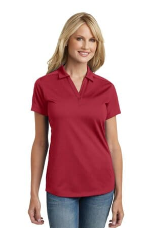 L569 port authority ladies diamond jacquard polo l569
