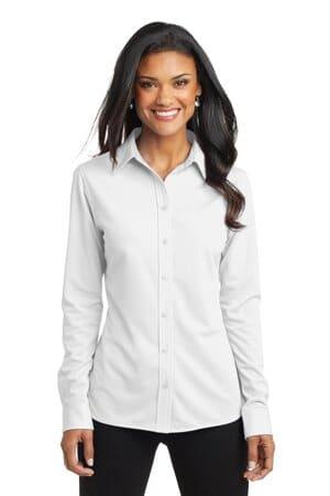 L570 port authority ladies dimension knit dress shirt