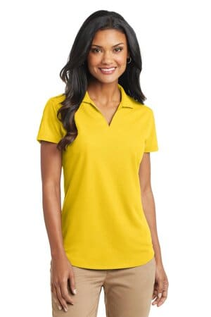 L572 port authority ladies dry zone grid polo l572