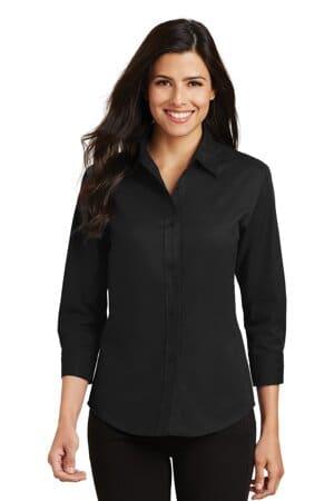 L612 port authority ladies 3/4-sleeve easy care shirt