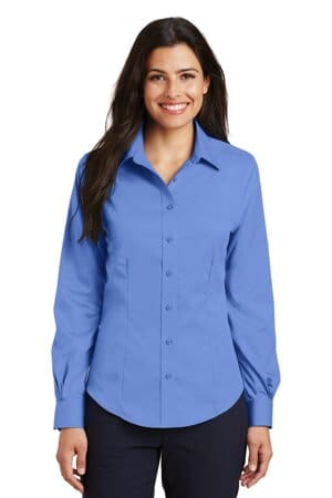 L638 port authority ladies non-iron twill shirt l638