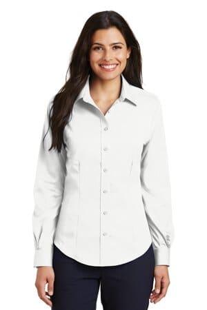 L638 port authority ladies non-iron twill shirt