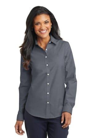 L658 port authority ladies superpro oxford shirt