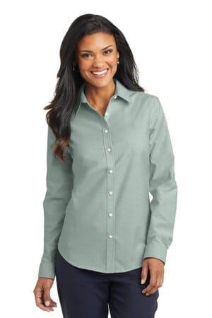 L658 port authority ladies superpro oxford shirt l658