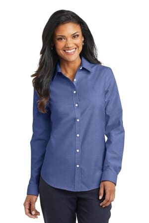 L658 port authority ladies superpro oxford shirt l658
