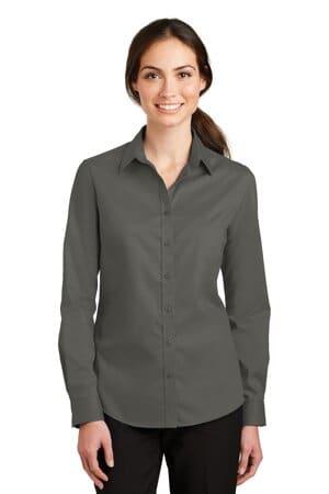 L663 port authority ladies superpro twill shirt