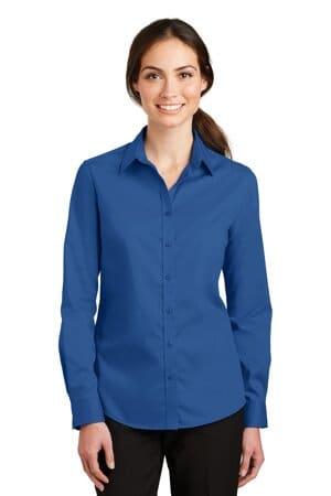 L663 port authority ladies superpro twill shirt l663