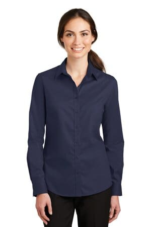 L663 port authority ladies superpro twill shirt l663