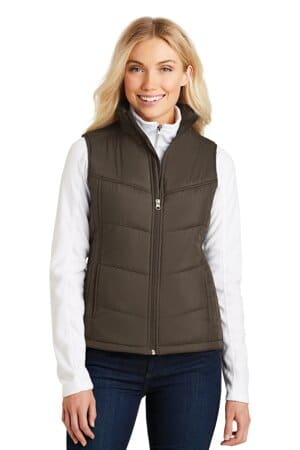 L709 port authority ladies puffy vest l709