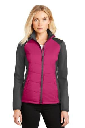 L787 port authority ladies hybrid soft shell jacket