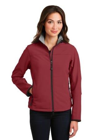 port authority ladies glacier soft shell jacket l790