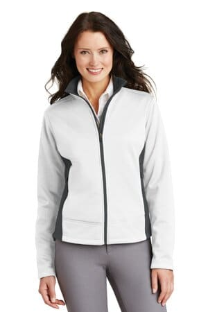 port authority ladies two-tone soft shell jacket l794