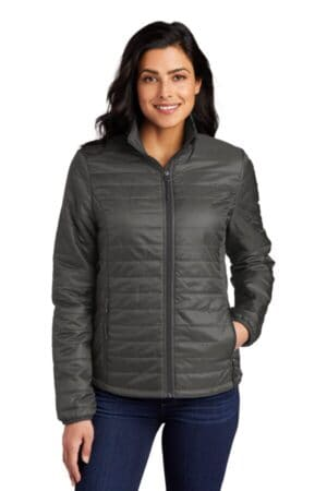 L850 port authority ladies packable puffy jacket