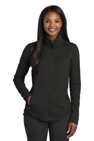 port authority ladies collective smooth fleece jacket l904