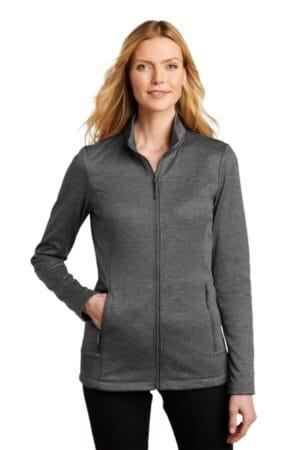L905 port authority ladies collective striated fleece jacket