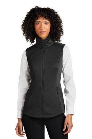 L906 port authority ladies collective smooth fleece vest