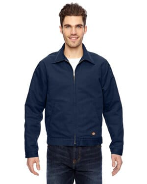 LJ539 Dickies men's 10 oz industrial duck jacket