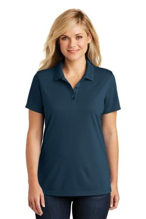 port authority ladies dry zone uv micro-mesh polo lk110