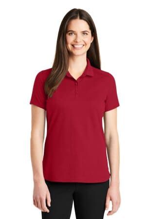 LK164 port authority ladies superpro knit polo lk164