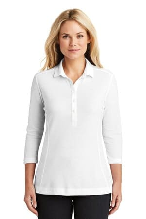 port authority ladies coastal cotton blend polo lk581