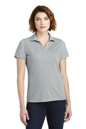 port authority ladies poly oxford pique polo lk582