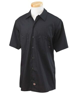 LL535 Dickies men's 425 oz industrial long-sleeve work shirt