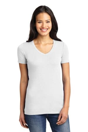 port authority ladies concept stretch v-neck tee lm1005