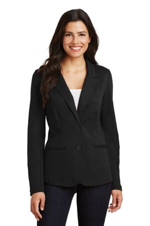 LM2000 port authority ladies knit blazer lm2000