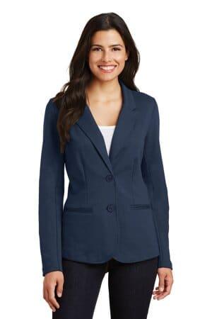 LM2000 port authority ladies knit blazer lm2000