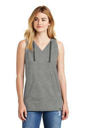 new era ladies heritage blend hoodie tank lnea106