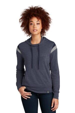 LNEA108 new era ladies heritage blend varsity hoodie