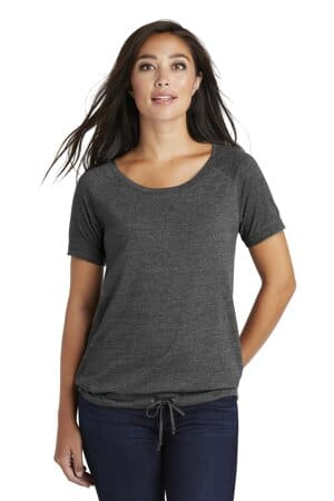 new era ladies tri-blend performance cinch tee lnea133