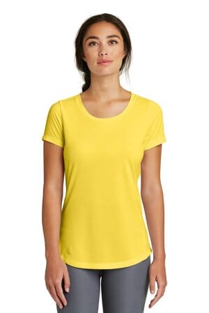 new era ladies series performance scoop tee lnea200