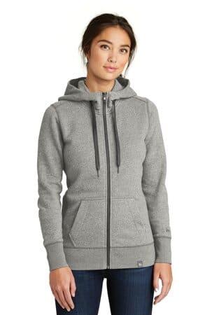 new era ladies french terry full-zip hoodie lnea502
