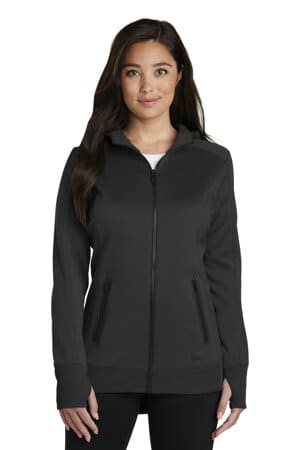 new era ladies venue fleece full-zip hoodie lnea522