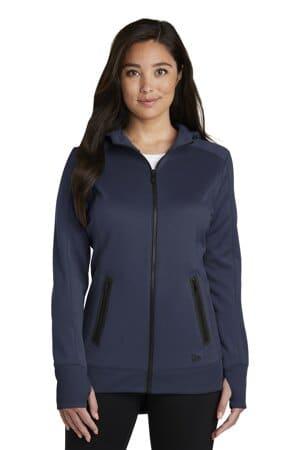 new era ladies venue fleece full-zip hoodie lnea522