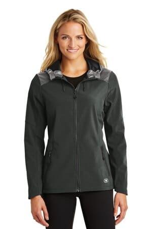LOE723 ogio endurance ladies liquid jacket