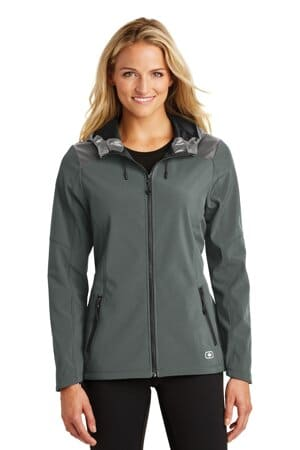 LOE723 ogio endurance ladies liquid jacket loe723
