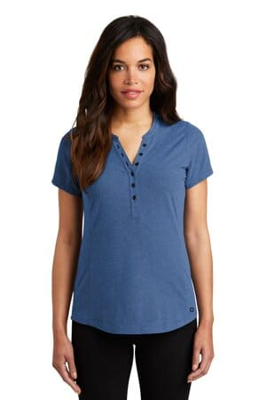 LOG136 ogio ladies tread henley log136