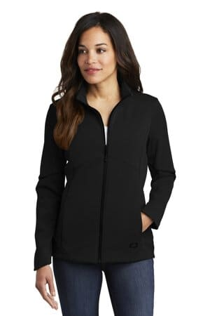 LOG725 ogio ladies exaction soft shell jacket log725