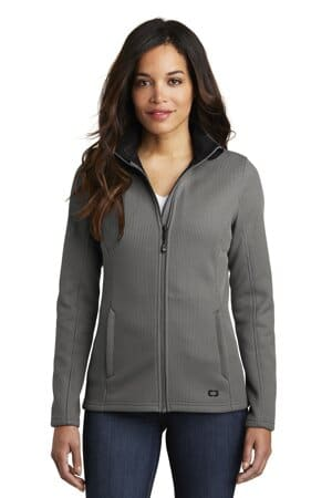 LOG727 ogio ladies grit fleece jacket log727