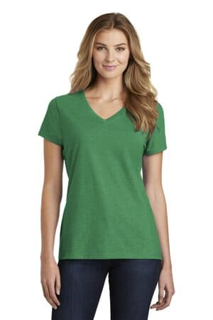port & company ladies fan favorite blend v-neck tee lpc455v