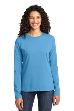 port & company ladies long sleeve core cotton tee lpc54ls