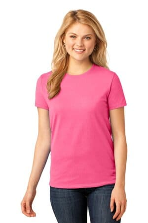 LPC54 port & company ladies core cotton tee lpc54