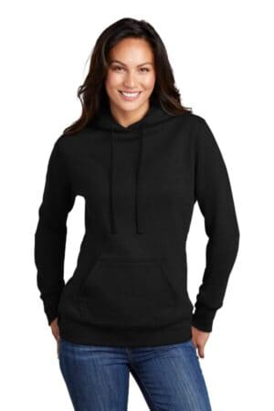 LPC78H port & company ladies core fleece pullover hooded sweatshirt