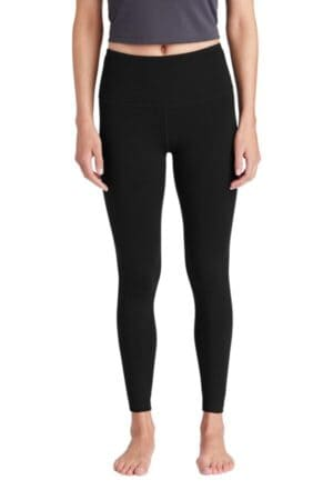 LPST891 sport-tek ladies high rise 7/8 legging lpst891